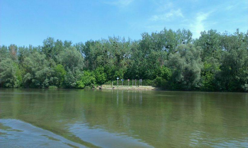 Hajókirándulás Szlavóniából Baranyába 1